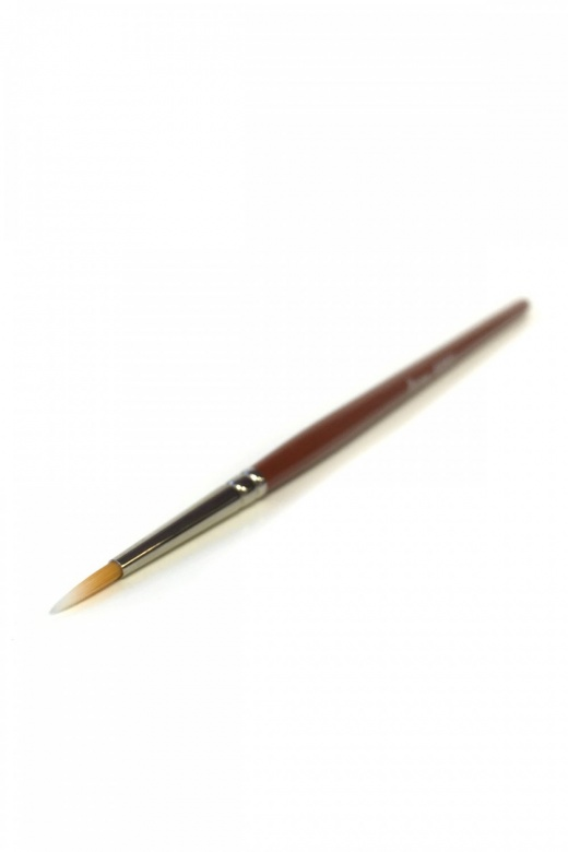 Kryolan Small Round Brush - 7mm