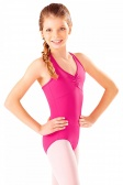 So Danca Children's Microfibre Multi Strap Diamond Back Leotard