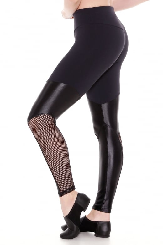 So Danca Fishnet Mesh Leggings