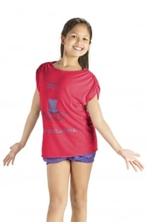 Girls' Loose Fit Tutu T-Shirt