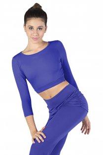 Ladies' Long Sleeve Crop Top