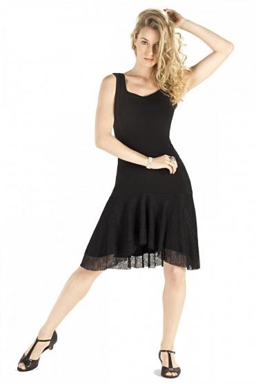 Ladies' Wide Strap Ballroom Dress