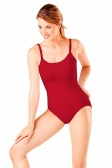 So Danca Low Back Leotard with Diamante Strap Detail