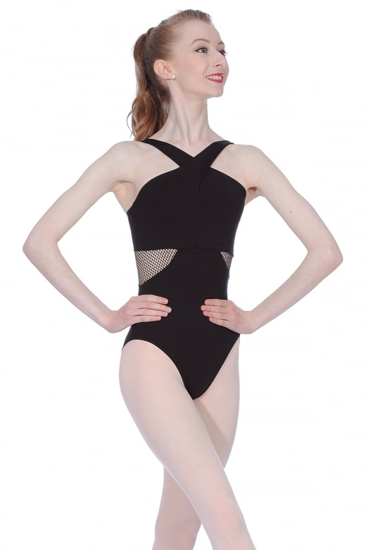 So Danca Microfibre Mesh Leotard