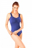 So Danca Wide Strap Criss-Cross Back Leotard