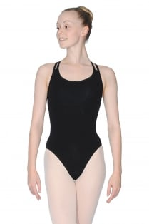 Sophie Sleeveless Cotton Lycra Leotard