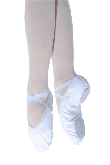 Split Sole Canvas Ballet Shoes Medium Fit