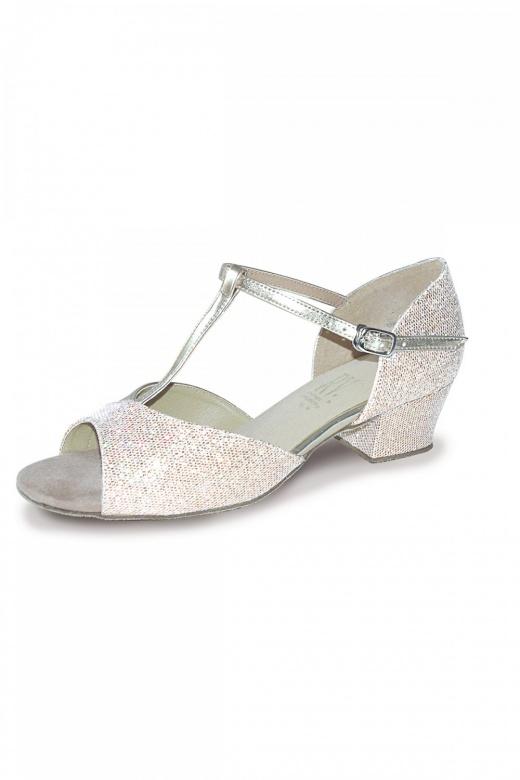 Roch Valley Stacey Girls' Ballroom Shoes - Cuban Heel