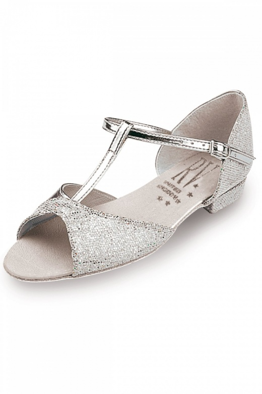 Roch Valley Stacey Girls' Ballroom Shoes - Low Heel