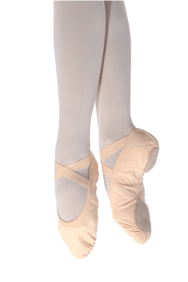 Stella Split Sole Canvas Ballet Shoes