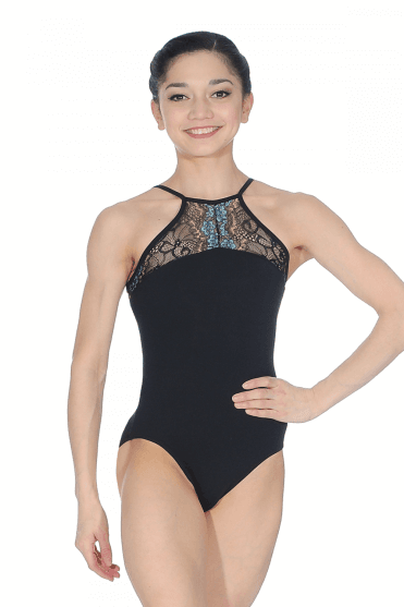 Strappy Lace Top Leotard