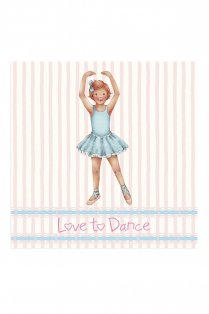 Stripe Isla Greetings Card