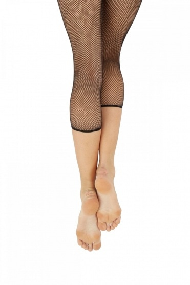 Studio Cropped Fishnet Tights