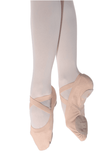 Synchro Ladies Canvas Ballet Shoe