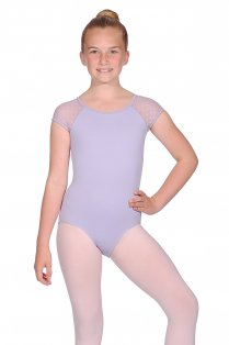 Taimi Girls' Cap Sleeve Leotard