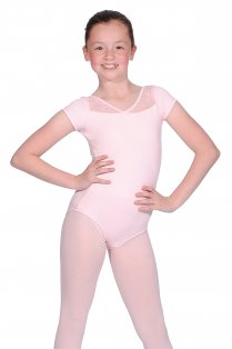 Triste Cap Sleeve Girls' Leotard