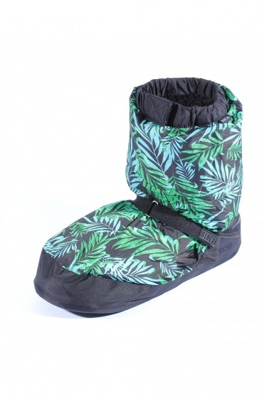 Tropicana print Warm Up Booties