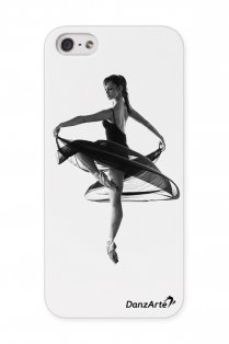 Turning Pointe iPhone 5/5S Transparent Case