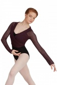 Capezio V Neck Crop Wrap Top