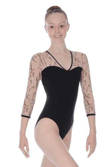 V Neck Women's Leotard