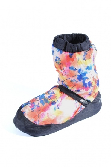 Vanilla Floral Warm Up Booties