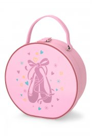 Vanity Case with Ballet Shoe Motif