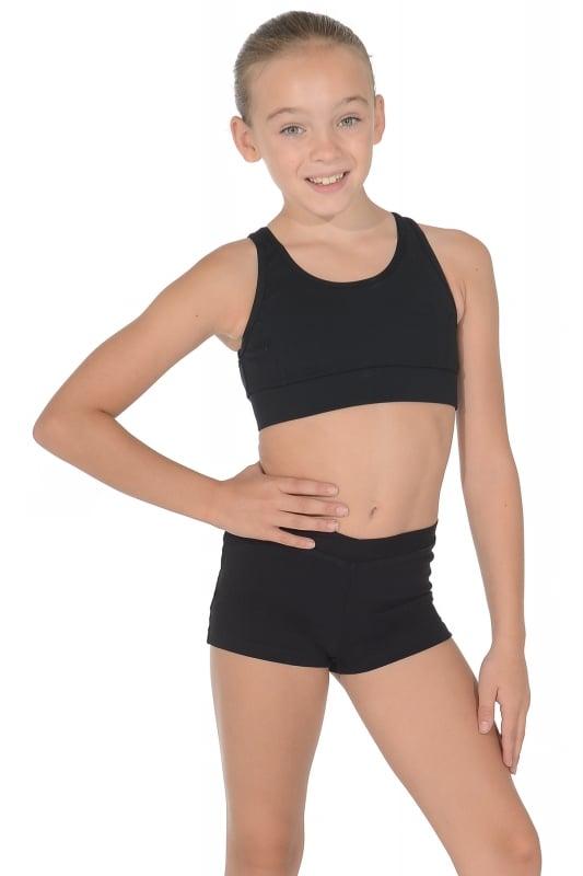 Capezio Girls Viera Crop Top | Dancewear Central