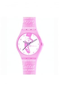 Watch with Pointe Shoes design
