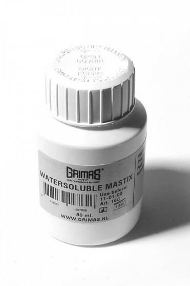 Water-soluble Mastix Skin Adhesive