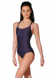 Sirene Camisole Leotard with Cross Back Straps